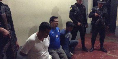 La Policía los interceptó en Coatepeque. Foto:PNC