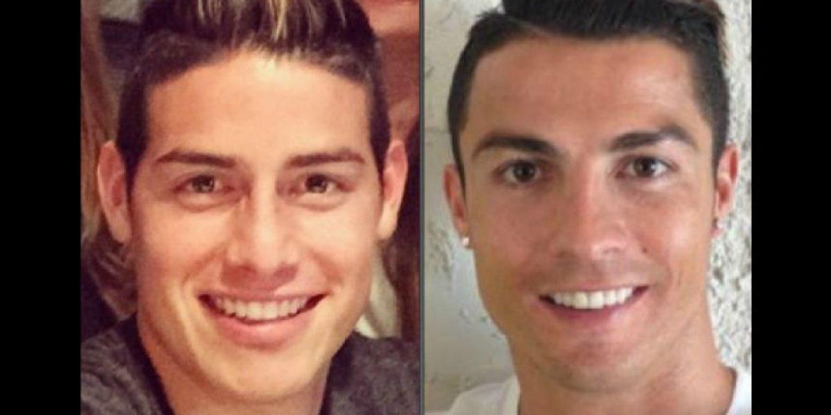 Fotos como cristiano ronaldo el nuevo peinado de james for Nuevo peinado de cristiano