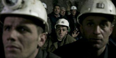 Mineros quedan atrapados por impacto de un proyectil en Ucrania