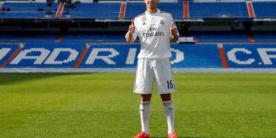 El brasileño de 21 años de edad pisando el Santiago Bernabéu. Foto:Real Madrid