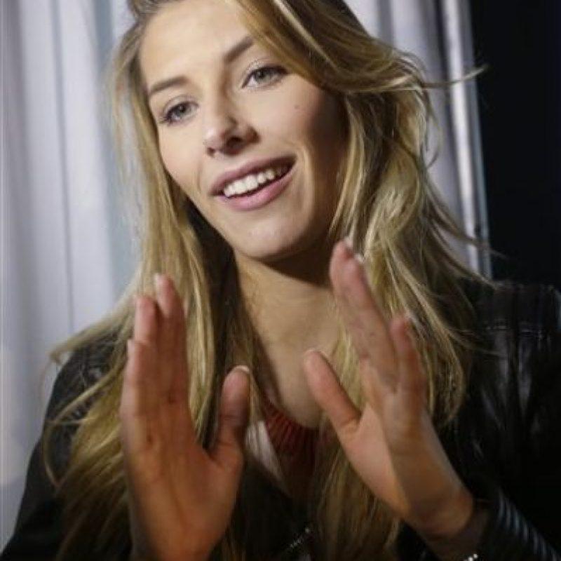 Camille Cerf , Miss Francia Foto:AP