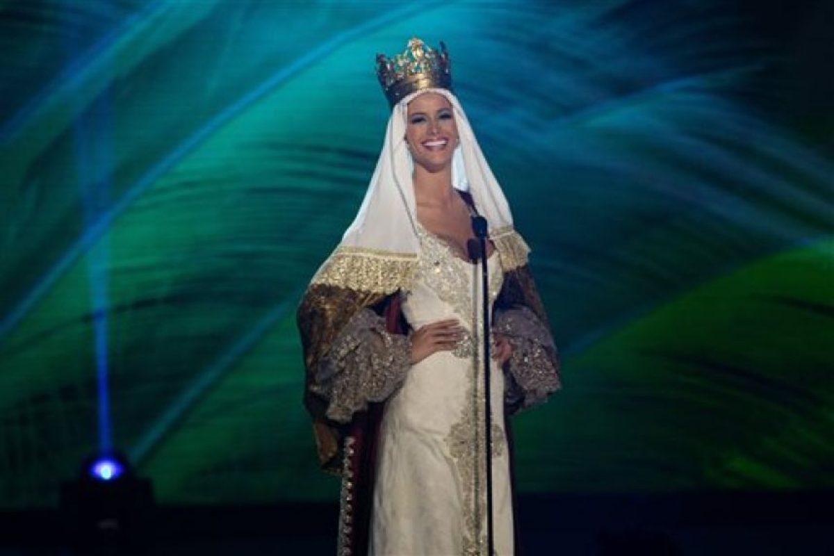 Desire Cordero Ferrer, Miss España Foto:AP