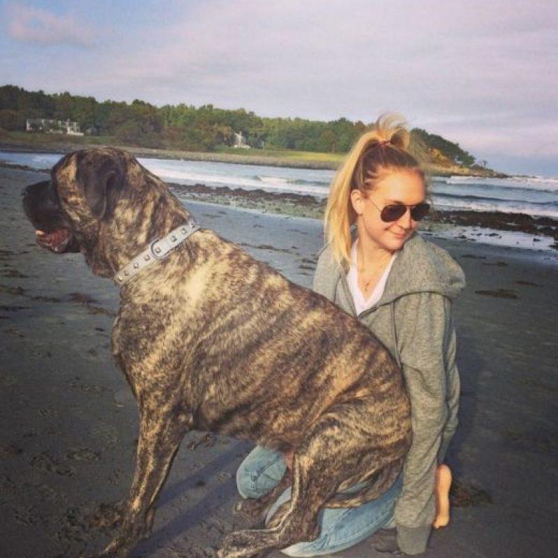 Fueron a la playa, le dio mucho amor. Foto:Instagram