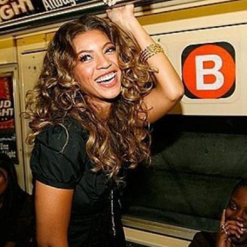 Beyoncé Foto:celebritiesonthesubway.tumblr.com