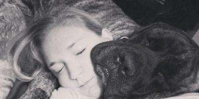 Así vivió la perra Gizelle sus últimos días, al lado de su dueña Lauren Foto:Instagram