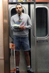 Zachary Quinto Foto:celebritiesonthesubway.tumblr.com