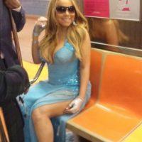 Mariah Carey Foto:celebritiesonthesubway.tumblr.com