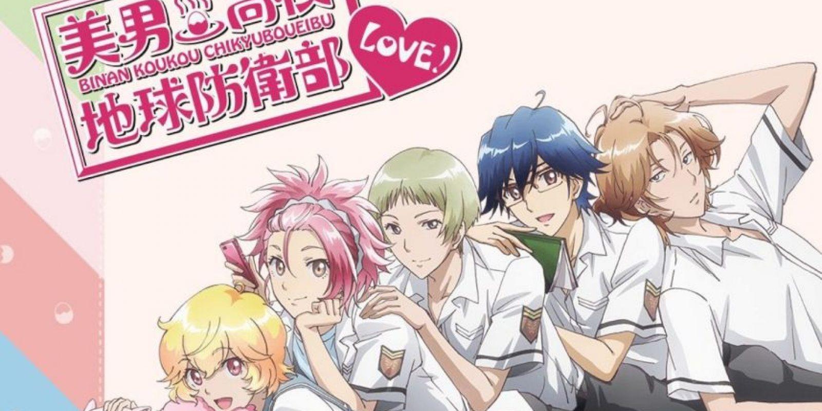 Son cinco compañeros vagos de instituto que representan a cualquier joven japonés. Foto:FUNimation Entertainment