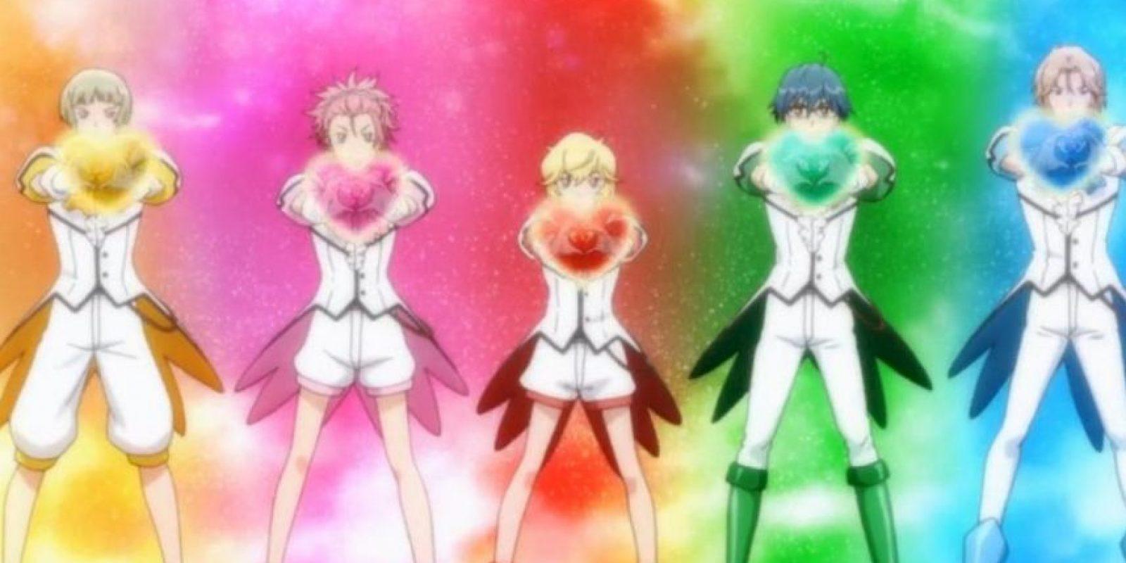 """Y se trata nada más ni menos que su versión masculina: """"El Club de los Defensores de la Tierra"""", o en japonés, """"Binan Koukou Chikyuu Bouei-bu LOVE!"""" Foto:FUNimation Entertainment"""