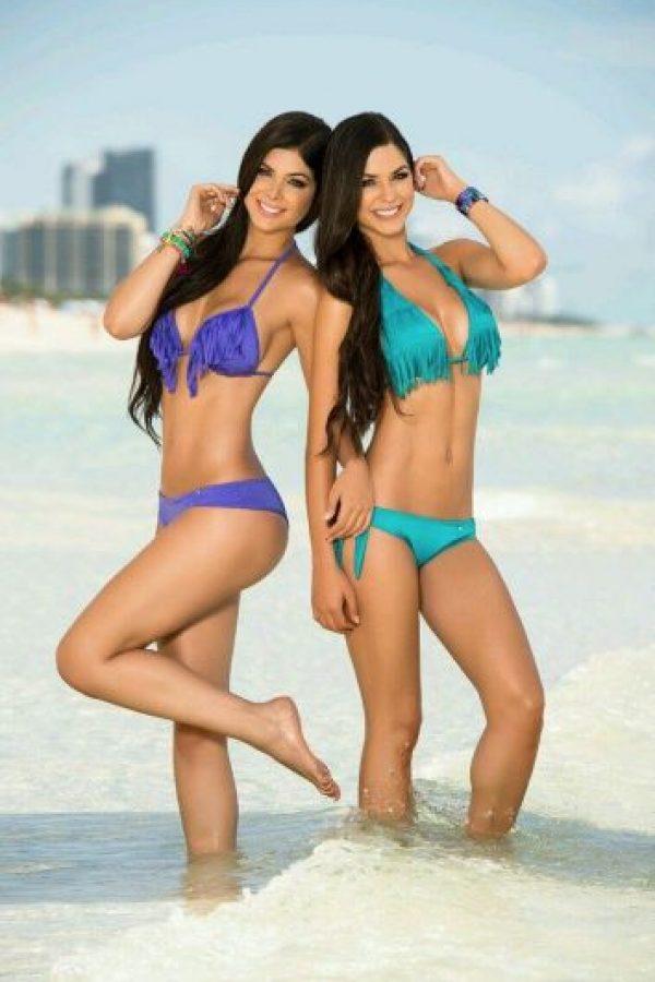 Camila y Mariana Dávalos Foto:Facebook Gemelas Dávalos