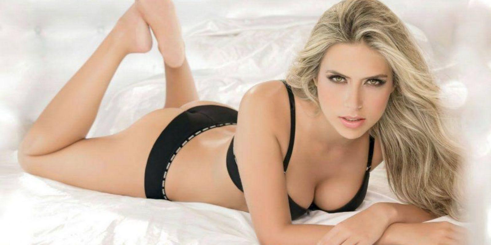 Una de los top models más famosas en Colombia Foto:Facebook Ana Sofia Henao
