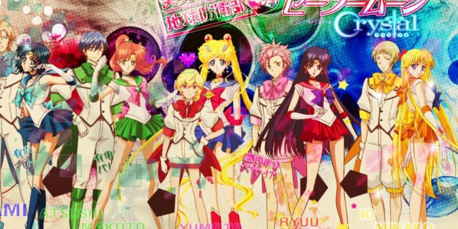"""Incluso cada uno tiene su equivalente en las """"Sailor Scouts"""". Foto:Deviantart."""