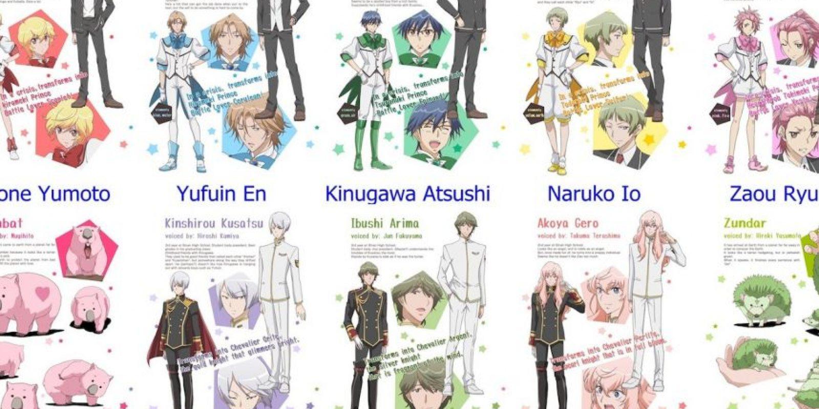 Por supuesto, sus poderes se basan en símbolos que representan paz y amor. Foto:FUNimation Entertainment