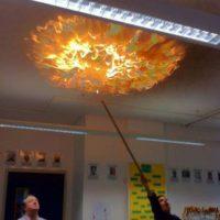 El que quemó el techo. Foto:HumorTrain