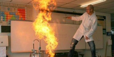 Heissenberg enseña química Foto:Imgur