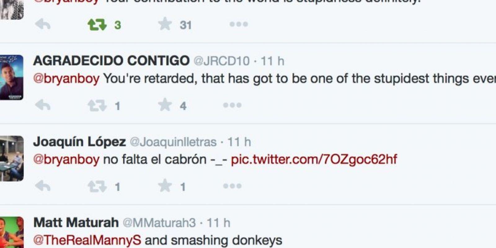 Colombianos y no colombianos comenzaron a trollearlo Foto:Twitter