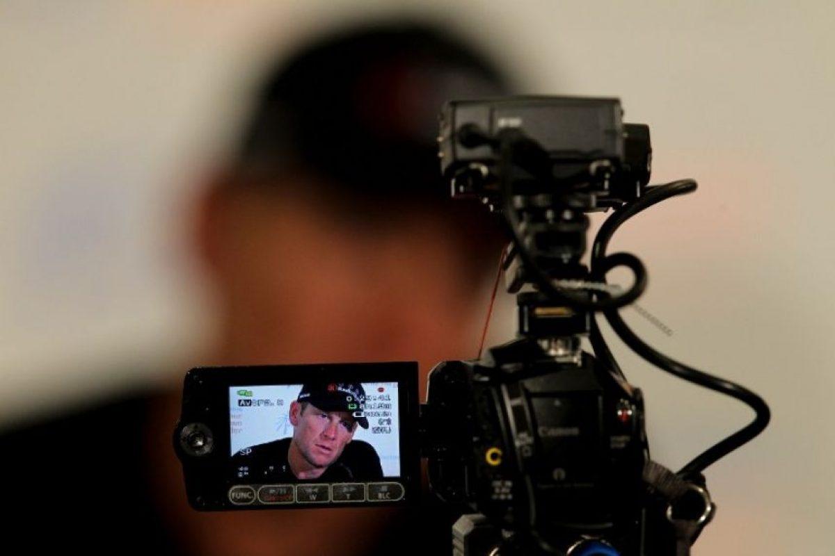 Lance Armstroing continúa como noticia luego de haber admitido su dopaje en 2013. Foto:AFP