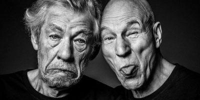 Ian McKellen y Patrick Stewart Foto:Facebook