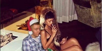 Con Rihanna Foto:Instagram/peejet