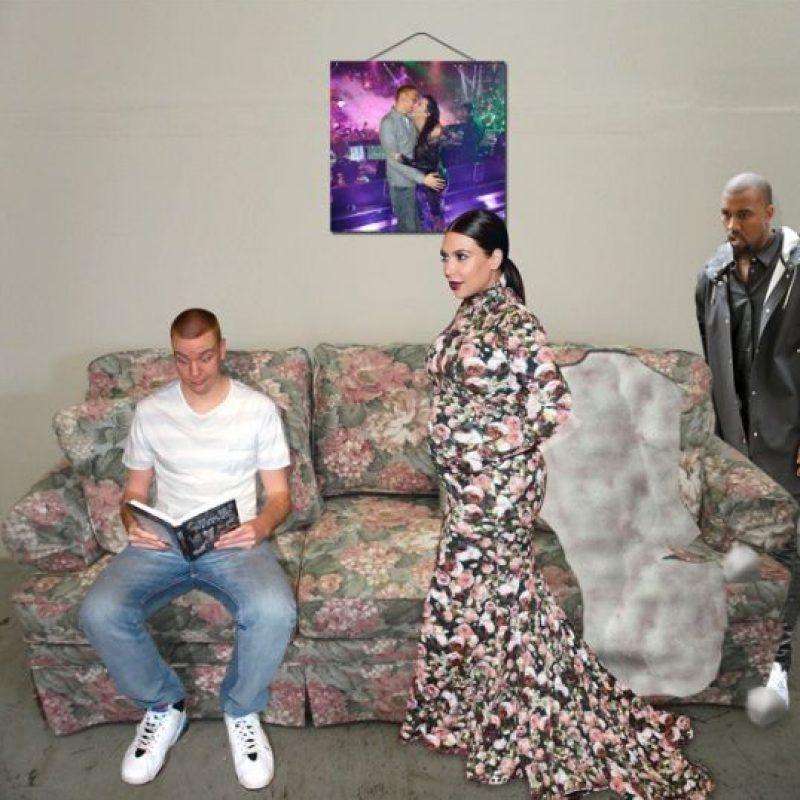 Con Kim Kardashian Foto:Instagram/peejet