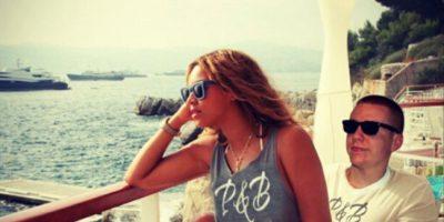 Con Beyoncé Foto:Instagram/peejet