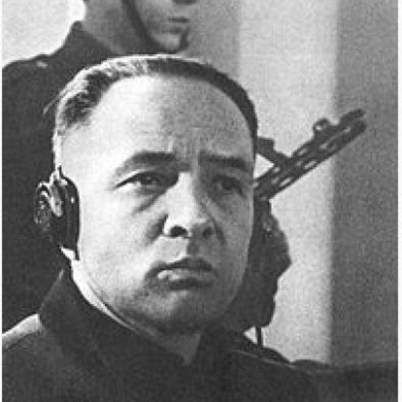Rudolf Hoss, primer comandante del campo de concentración de Auschwitz Foto:Wikimedia.org
