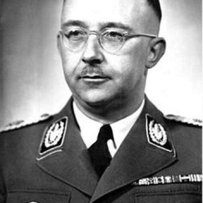 Heinrich Himmler, comandante de la SS, organización militar nazi encargada de los campos Foto:Wikimedia.org