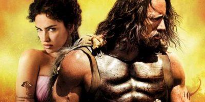 """La Roca e Irina tuvieron gran química en la grabación de la película """"Hércules"""" Foto:Instagram: @therock"""