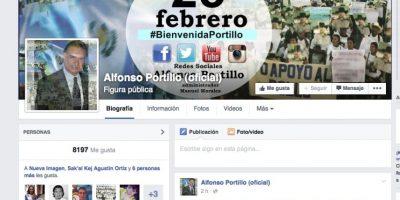 Mensaje en su cuenta de Facebook. Foto:Publinews
