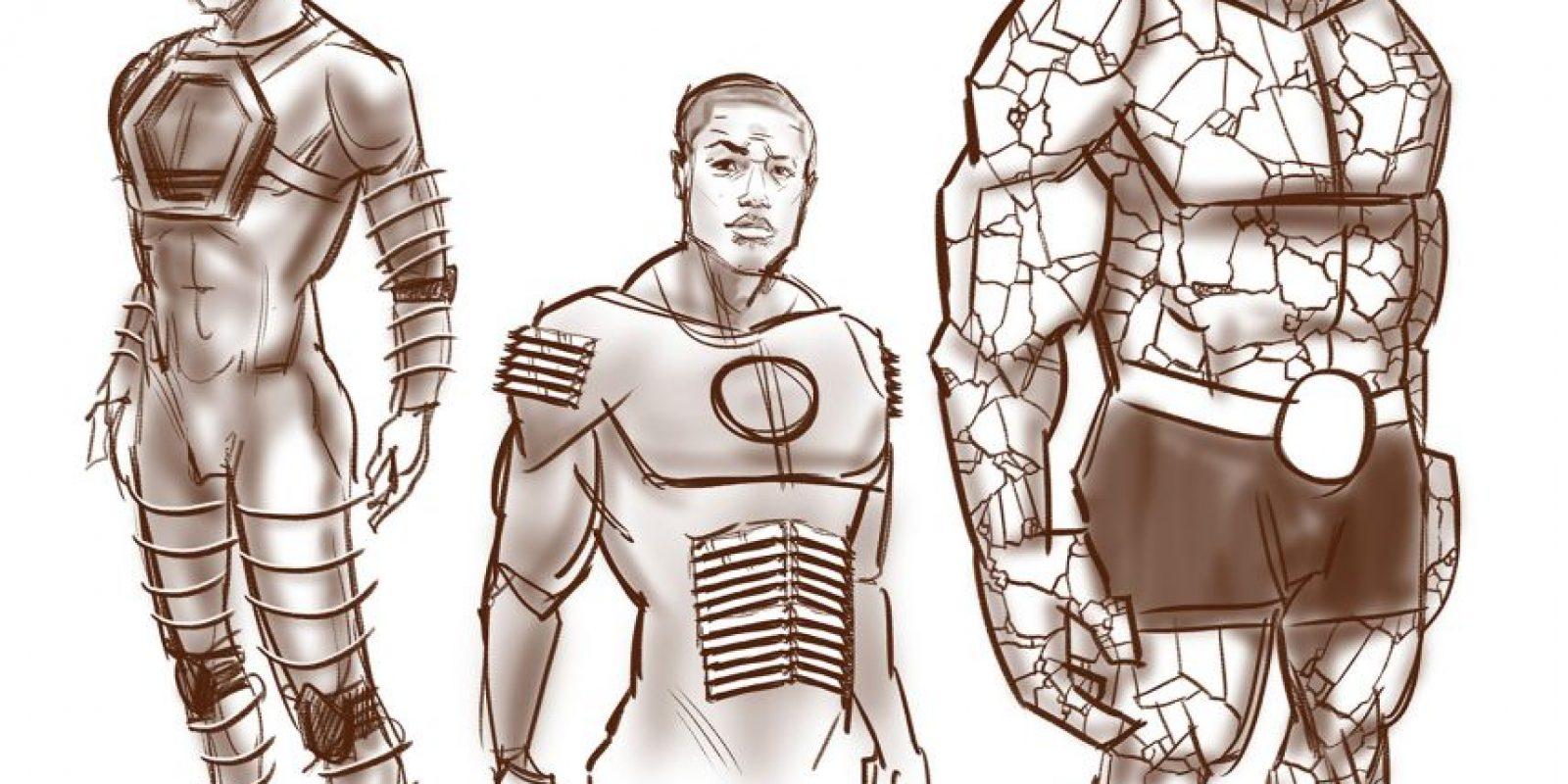 El arte conceptual de los trajes Foto:comicbook.com