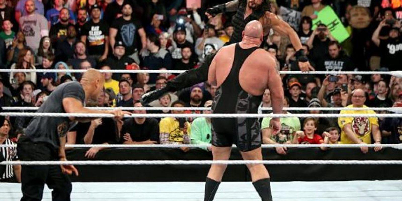 Golpeó al Big Show Foto:WWE