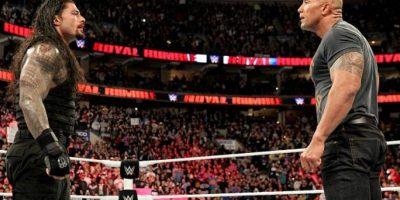 Ayudó a ganar a su primo Roman Reigns Foto:WWE