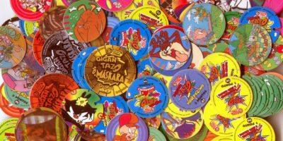 """Los """"tazos"""" eran satánicos y eran adictivos. Foto:MercadoLibre"""