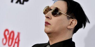 Marilyn Manson era el Anticristo y un satanista reconocido. Este siempre lo ha negado. Foto:Getty Images