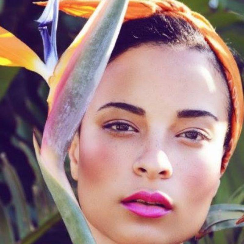 Kaci ya era modelo. Ganó el Jamaica´s Next Top Model en su país. Foto:Facebook/Kaci Fennell.