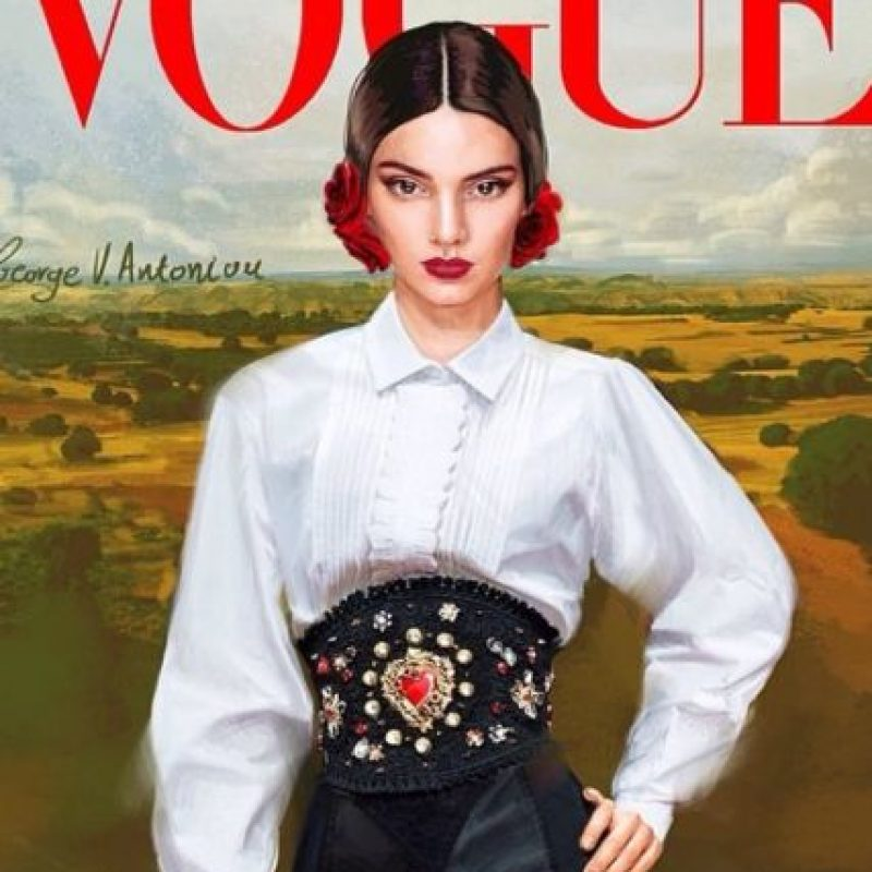 """12. Kendall detesta el legado Kardashian: odió las fotos de Kim para """"Paper"""" y explicó que su razón para censurar a su hermana en los desfiles es que su apellido y filiación han hecho que sea rechazada y mirada con fastidio en el mundo de la moda. """"Quiero hacerme un nombre por mí misma"""", afirma. Foto:Instagram/Kendall Jenner"""
