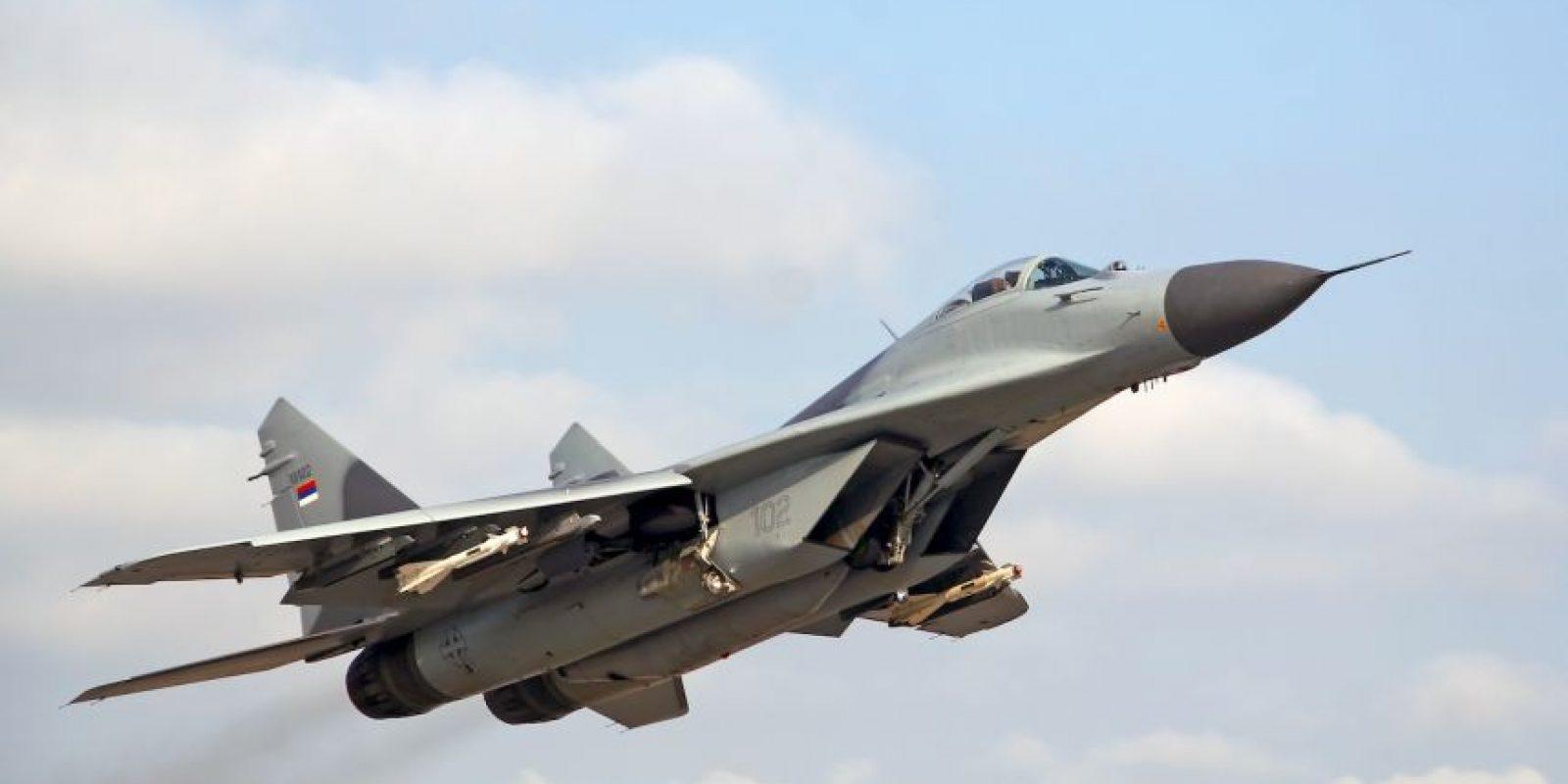 9. MiG-29M. Velocidad máxima de Mach 2,25 (2.756,3 km/h) Foto:Wikimedia