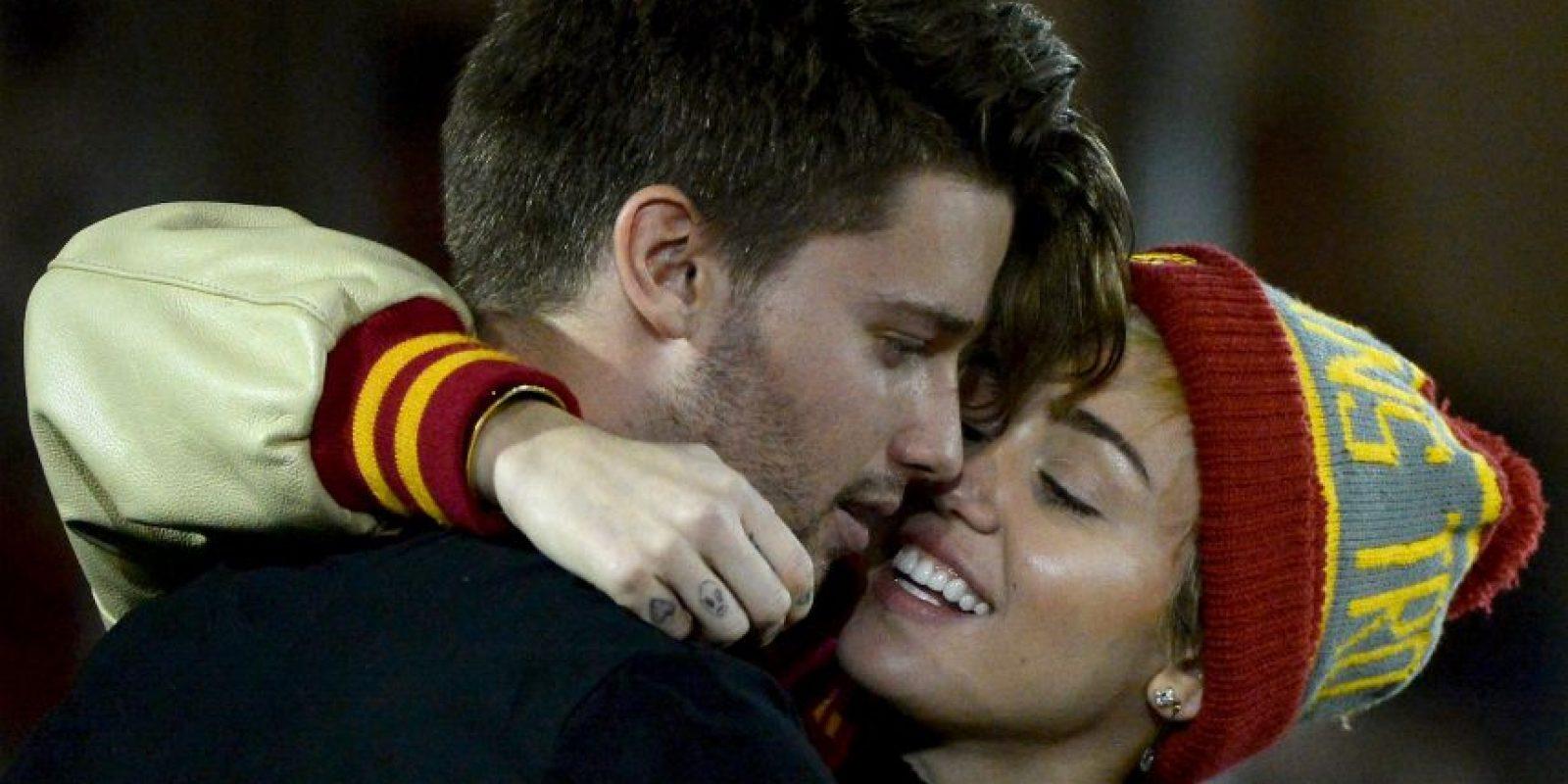 Sin embargo, Miley se distingue por ser muy polémica Foto:Getty Images