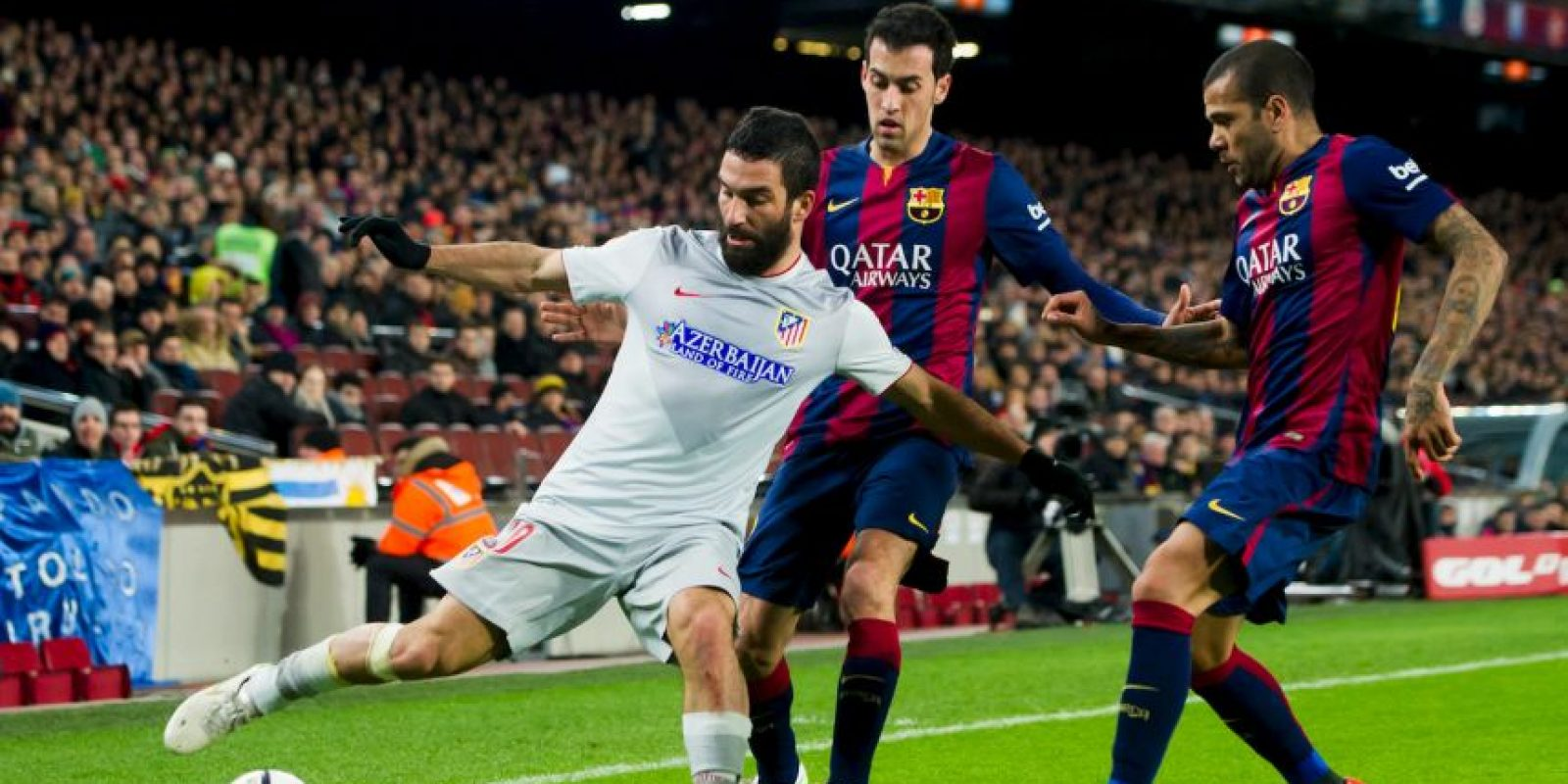 Ahora se miden en el Vicente Calderon Foto:Getty