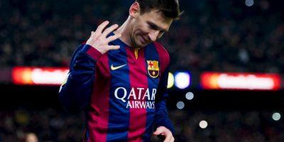Lionel Messi marcó de penal Foto:Getty