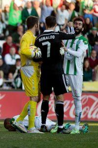 Javier Tebas, presidente de la Liga de Fútbol Profesional, aseguró que CR7 no fue muy deportivo Foto:Getty
