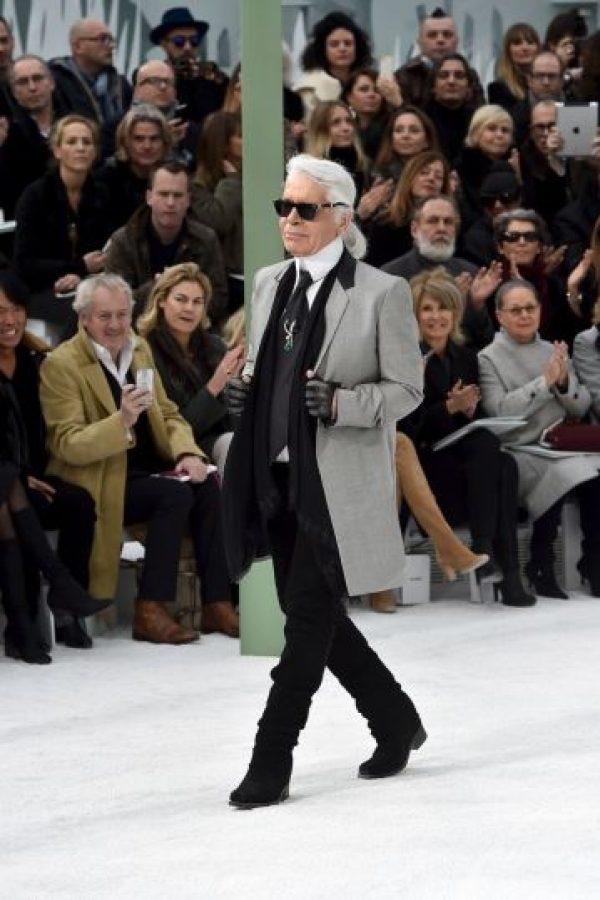 La dieta de Karl Lagerfeld, solo la pudo seguir durante cuatro días Foto:Getty Images