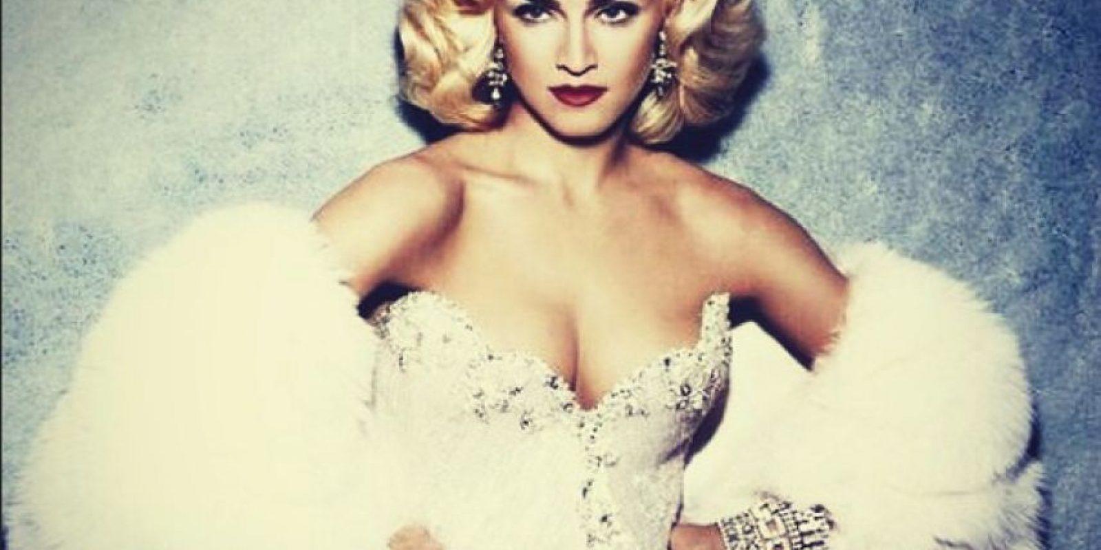 Madonna con vestido muy elegante Foto:Instagram/Madonna