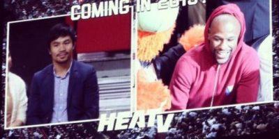 """VIDEO: El """"incómodo abrazo"""" entre Manny Pacquiao y Floyd Mayweather"""