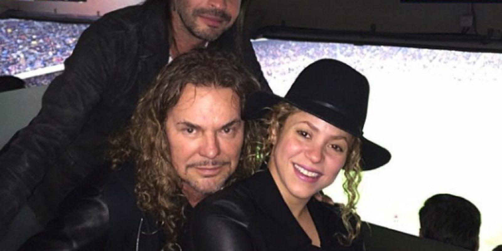 Maná y Shakira Foto:Instagram/Shakira