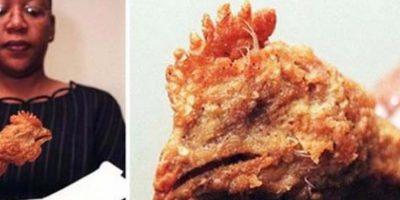 Pollo. Un pollo real. Foto:Viralnova