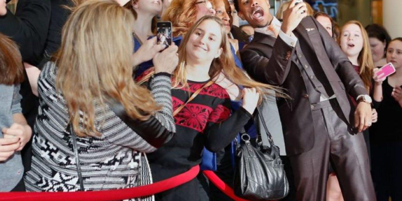 Nick Cannon durante un evento en Nueva York Foto:Getty Images