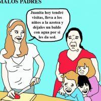 """""""Malos Padres"""" tiene más de 10 mil seguidores en Facebook Foto:Malos Padres/Facebook"""