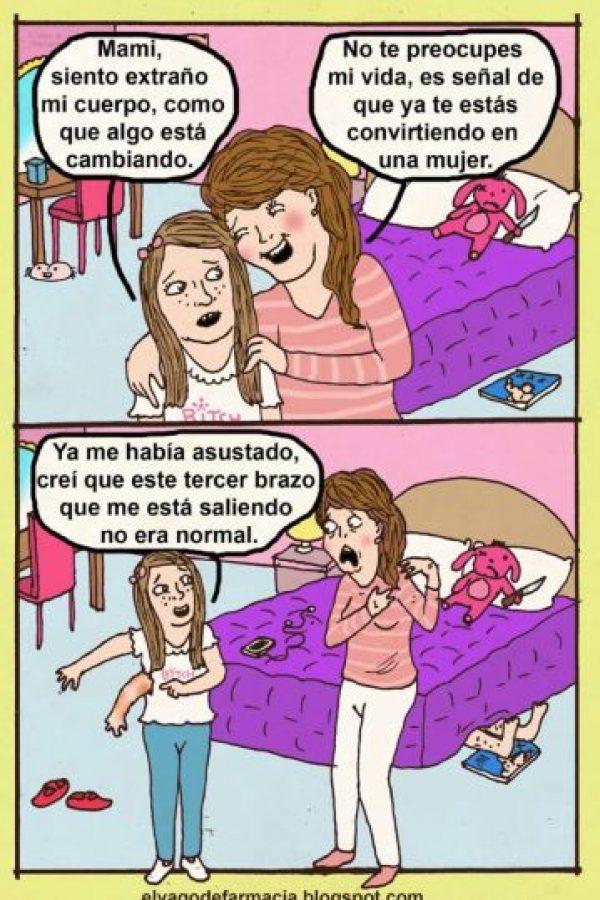 Y grotescos Foto:Vago de Farmacia/Facebook