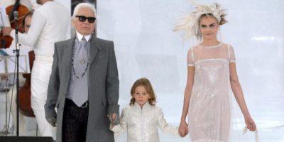 Es hijo del supermodelo Brad Koenig, tiene 6 años. Foto:Getty Images